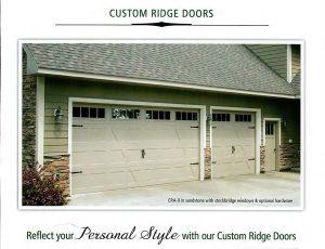 Custom Ridge Cover