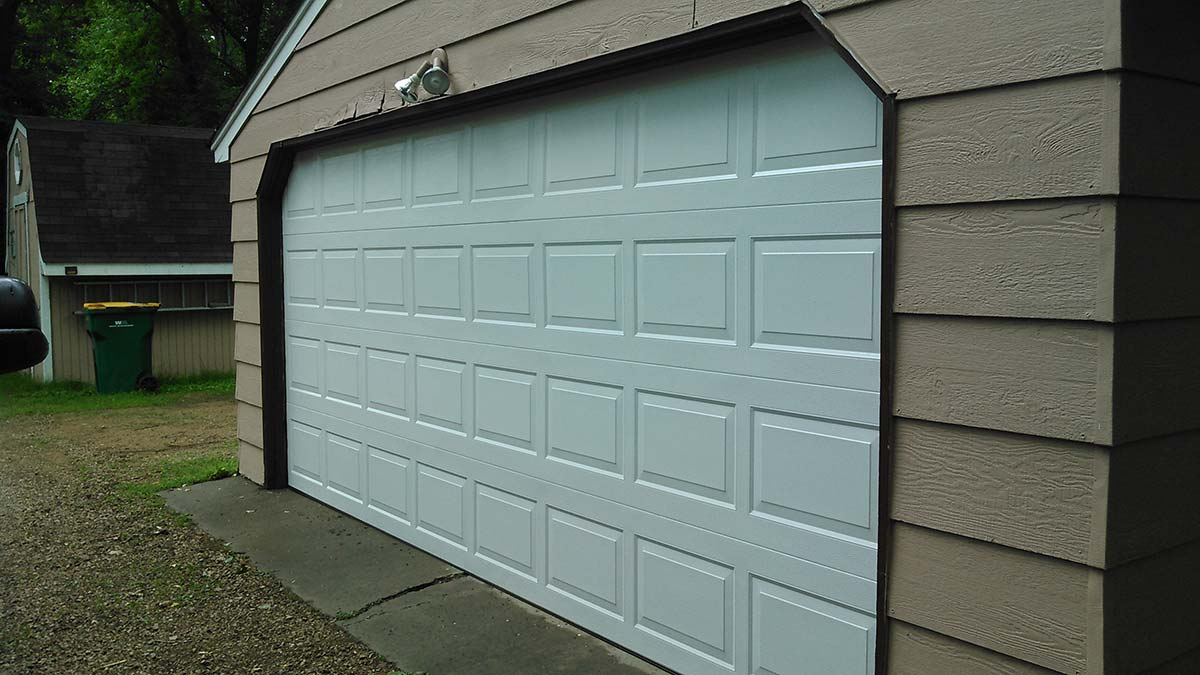 Garage Door After Photo