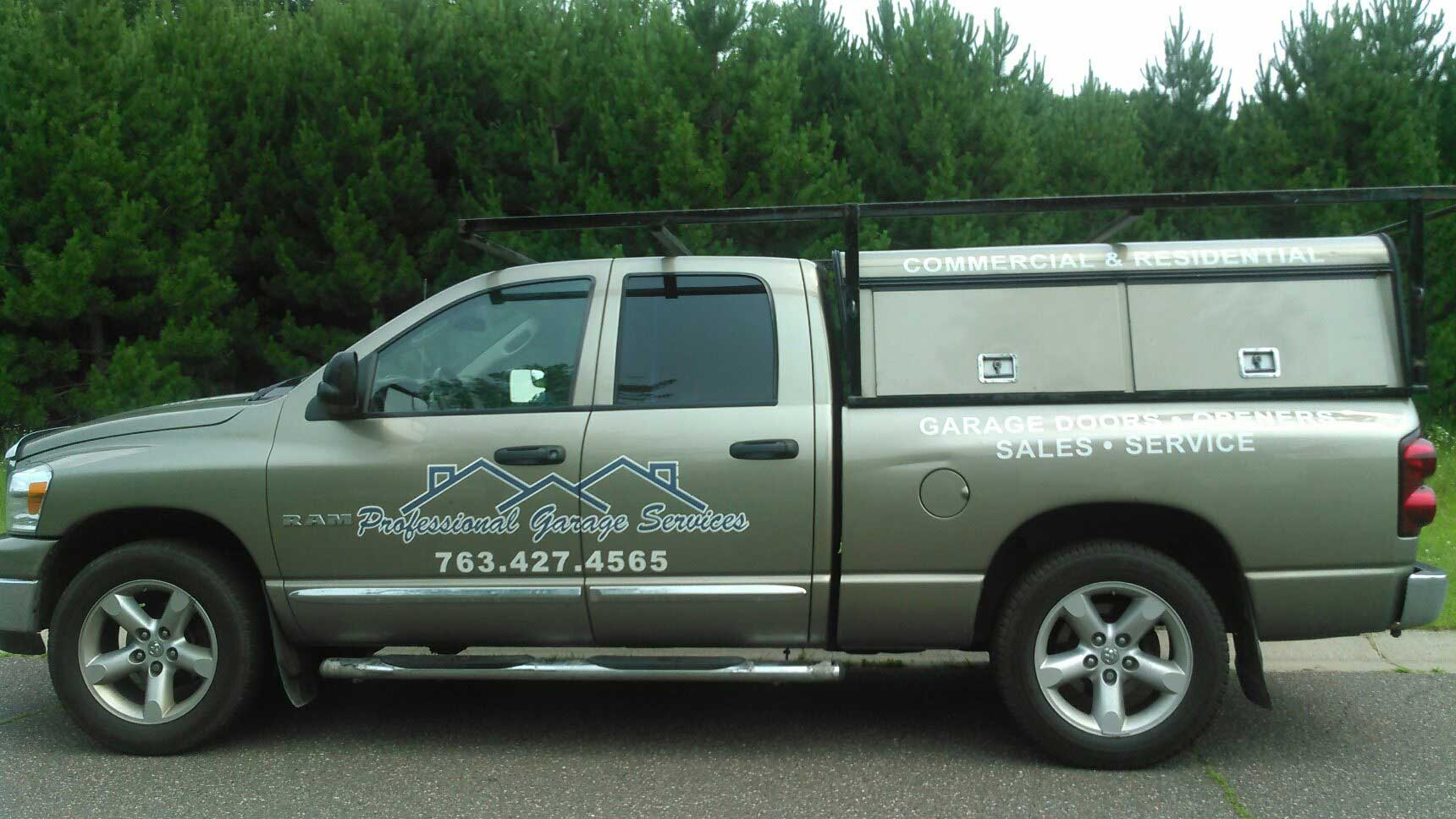 About Professional Garage Services